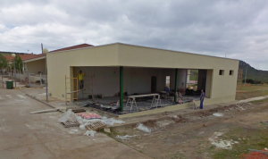 gimnasio garlitos fase construccion